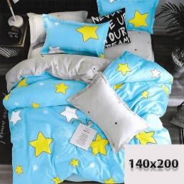 Pościel w gwiazdy 140/200 100% bawełna