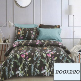 Kwiatowa pościel 200x220