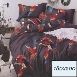 Piękne papugi 180x200