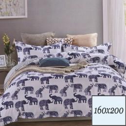 Pościel w słonie 160x200
