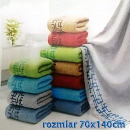 Ręcznik frotte 70x140 100% bawełniany wz1