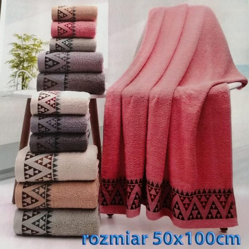 Ręcznik frotte 50x100 100% bawełniany wz4
