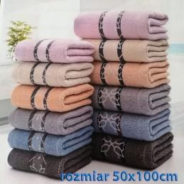 Ręcznik frotte 50x100 100% bawełniany wz7