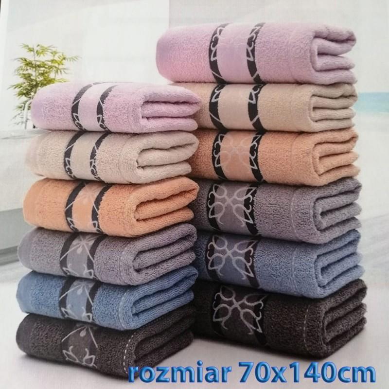 Ręcznik frotte 70x140 100% bawełniany wz7