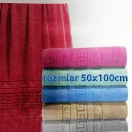 Ręcznik frotte 50x100 100% bawełniany wz9
