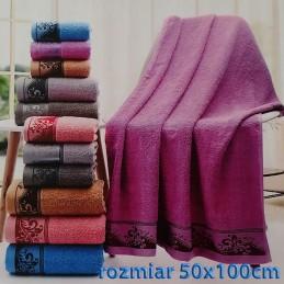 Ręcznik frotte 50x100 100% bawełniany wz10
